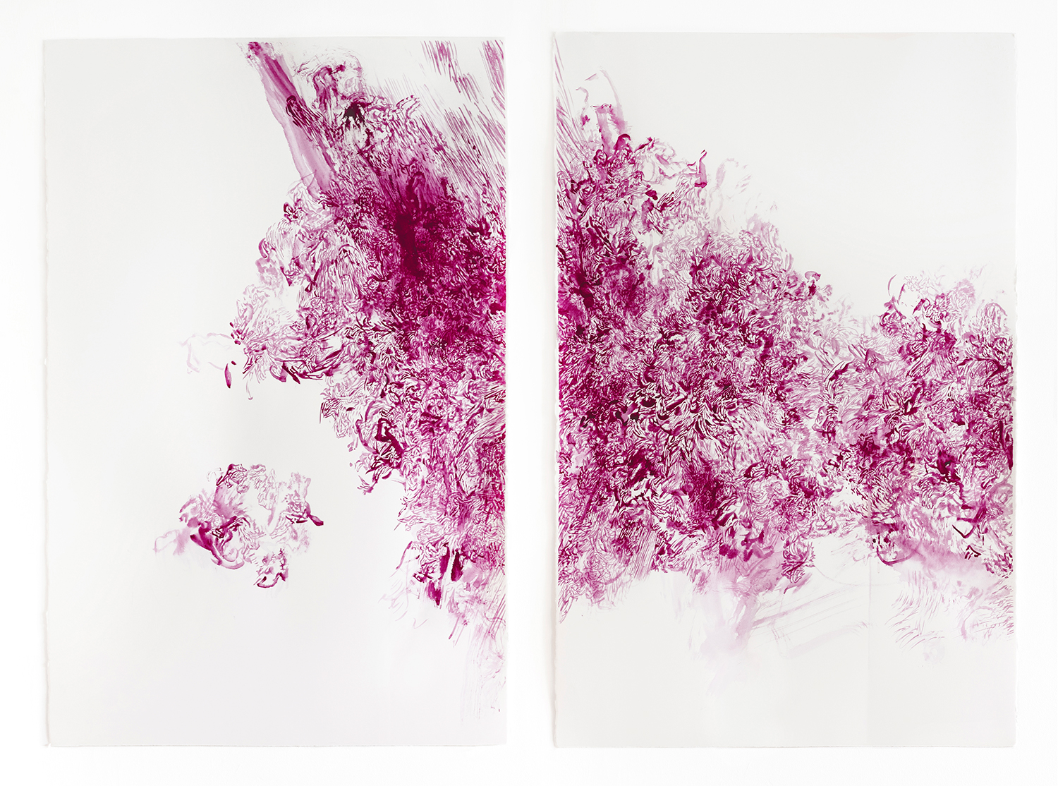 Tangled Hierarchy II Permanent magenta